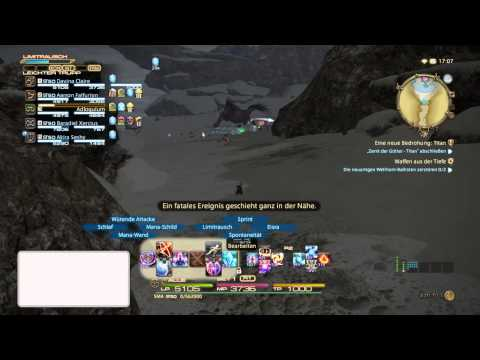 FINAL FANTASY XIV  Fate Der legendäre Behemoth Game Play