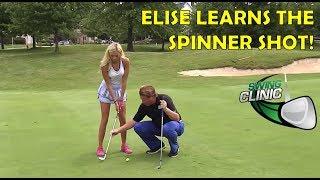 Video Swing Clinic:  Elise Lobb Learns the Spinner Shot MP3, 3GP, MP4, WEBM, AVI, FLV Juni 2018
