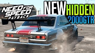 HIDDEN Skyline 2000 GTR Location & DRAG RUNS?! | Need for Speed Payback