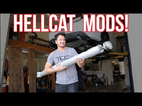 K&N MADE HOW MUCH HP?! - 2017 Dodge Hellcat First Mods! (видео)