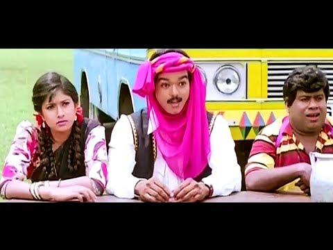 Vishnu Full Movie   Vijay Tamil Super Hit Movies   Vijay, Sanghavi
