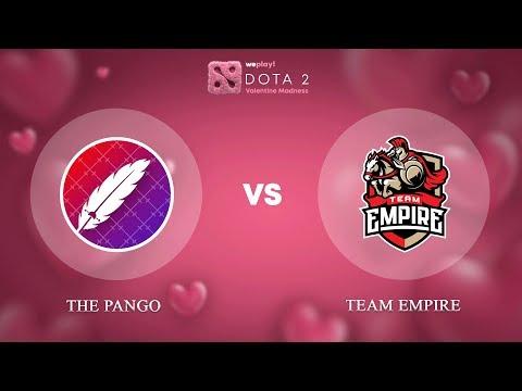The Pango vs Team Empire - ENG @Map2 | Dota 2 Valentine Madness | WePlay!