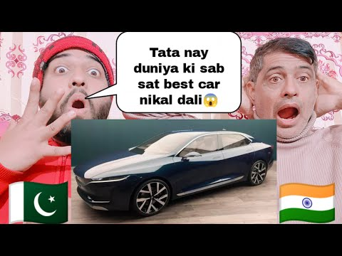 Tata E Vision Sedan Concept detail Review Reaction By|Pakistani Family Reactions|