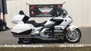 1. 2018 Honda Gold Wing Tour -  Pearl White