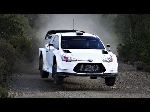 Test Andreas Mikkelsen | Hyundai i20 WRC | Rally México 2018 by Jaume Soler