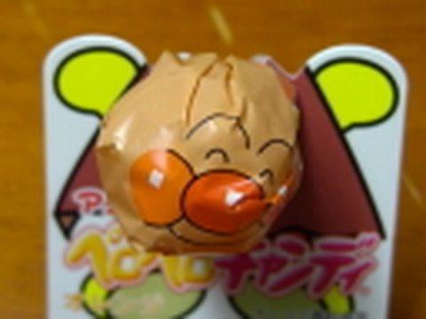 アンパンマンペロペロキャンディ アンパンマン(オレンジ味)