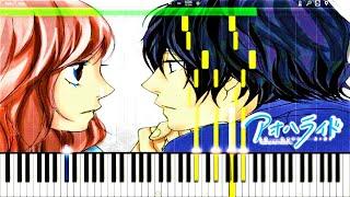 Video Ao Haru Ride - I Will by Chelsy (Piano Version) EP3 BGM | Piano Tutorial, アオハライド【ピアノ】 MP3, 3GP, MP4, WEBM, AVI, FLV Agustus 2018