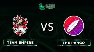 Team Empire vs The Pango - RU @Map1 | Dota 2 Tug of War: Radiant | WePlay!