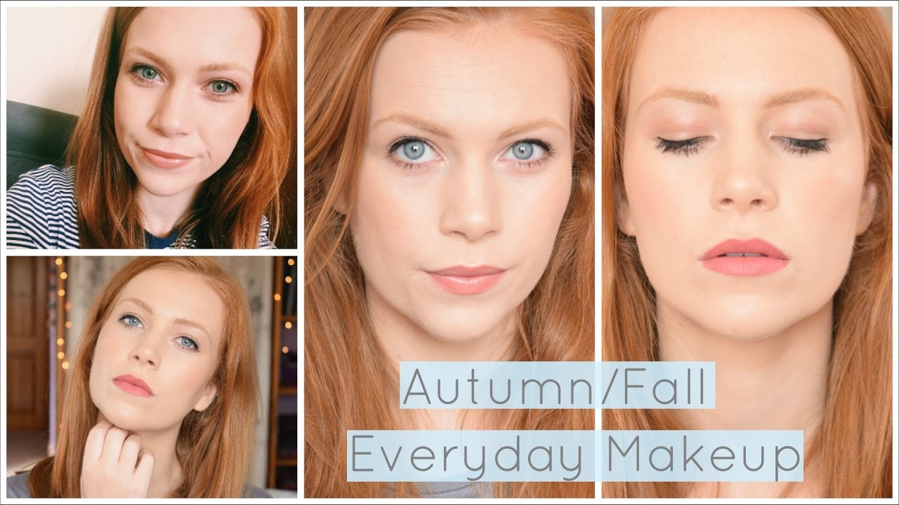 Makeup For Redheads | Autumn/Fall Everyday Makeup Routine | 2 Lip options | Simply Redhead