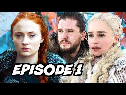Game Of Thrones Season 8 Episode 1 Scene - Trailer Easter Eggs Breakdown
