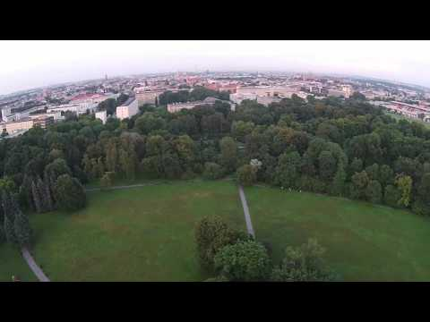 Kraków Drone Video
