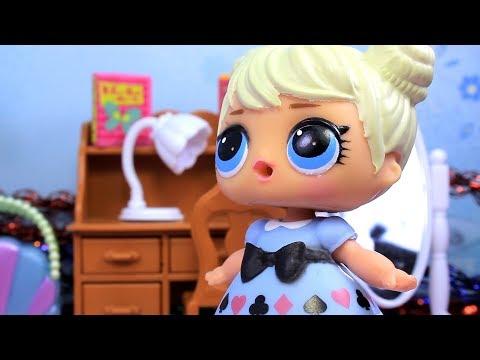 Куклы ЛОЛ НОВОГОДНЯЯ ВЕЧЕРИНКА 1 ЛОЛ Сарприсе Сюрпризы Игрушки Видео для Детей с Лалалупси Вероника