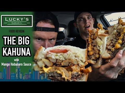 Lucky's Sandwich Company Big Kahuna Food Review | Season 4, Episode 37
