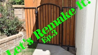 In this series I go back and remake projects I made in my school shop classes or other projects from my past. In this episode I fix our rusted out gate.