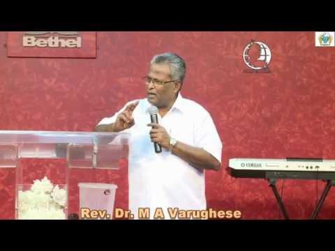 Baptism - Bible Class by Rev. Dr. M A Varughese, Bethel AG Church Bangalore