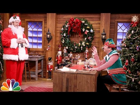 Chris Pratt and Jimmy Fallon Act Out a Dramatic Christmas Sketch Using Silly Mad