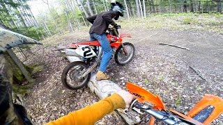 8. THE HONDA CRF450R CAN'T DO IT