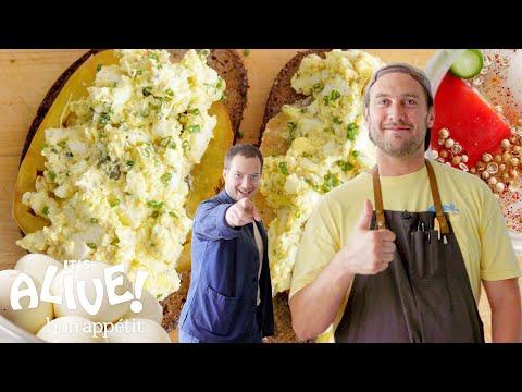 Brad Makes Pickled Fermented Eggs   It's Alive   Bon Appétit