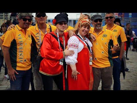 Γάλλοι και Αυστραλοί οπαδοί έδωσαν χρώμα στο Καζάν