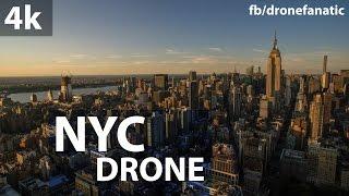 Conheça Nova Iorque voando com um drone