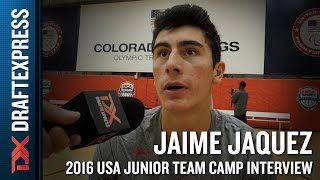 Jaime Jaquez Interview at USA Basketball Junior National Team Camp