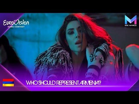 Eurovision 2018 - Who should represent Armenia?