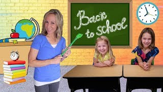 Video First Day Back to Toy School for Addy and Maya MP3, 3GP, MP4, WEBM, AVI, FLV Desember 2018