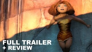 The Croods 2013 Official Trailer + Trailer Review : HD PLUS