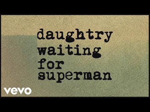 Waiting for Superman (Lyric Video)