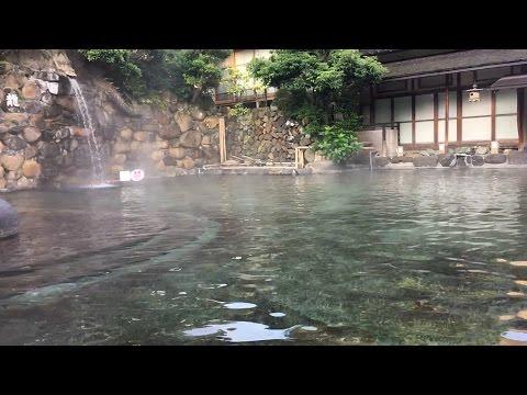 【観光】島根 玉造温泉 長楽園 ~日本一広い混浴~