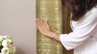 Maytex Thermal Shield Energy Saving Light Blocking Window Curtain