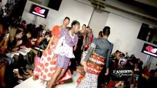 Debby African Stitches @ London Fashion Week S/S 2014 (African Fashion By Fashions Finest)