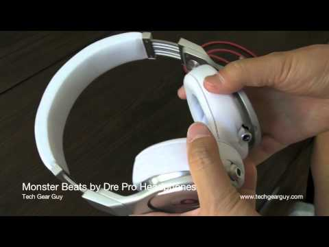 techgearguy - A review of a Monster Beats by Dre Pro.