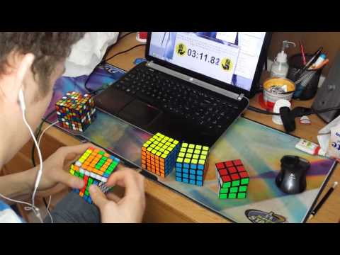 Rubik kocka kirakás