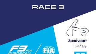 18th race of the 2016 season / 3rd race at Zandvoort