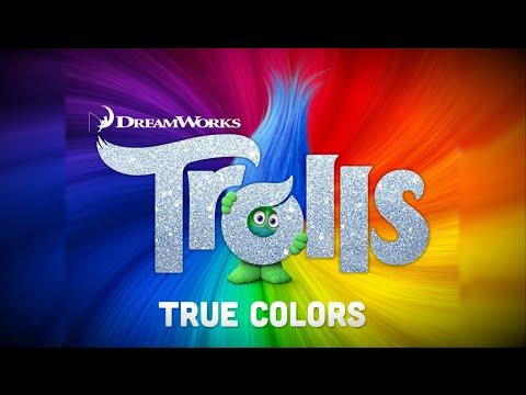 Justin Timberlake + Anna Kendrick - True Colors [Trolls OST] [Lyrics]
