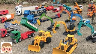 Excavator videos for children  Trucks for children  Construction trucks for children  In this video we will see some of our favorite mighty wheels at work: excavator, bulldozer, cement truck, crane, dump truck and an articulate front loader.20sarasa is a channel where we make learning videos for toddlers, open a lot of surprise toys for kids, and do toy reviews.◆Subscribehttp://goo.gl/mTUINt◆Twitterhttps://twitter.com/20sarasa