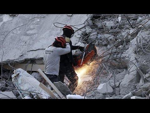 Ισημερινός: Μικρά «θαύματα» κάτω από συντρίμμια – Εξανεμίζονται οι ελπίδες για επιζώντες