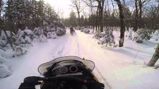 5. Ski doo mxz 380 f powder riding