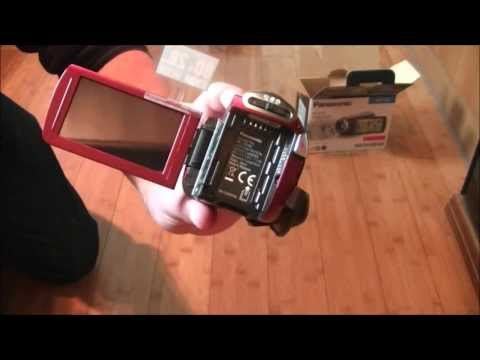 Panasonic HC-V510 Unboxing | 28mm Wide Lens , 50 FPS Frames Per Second Full HD Recording