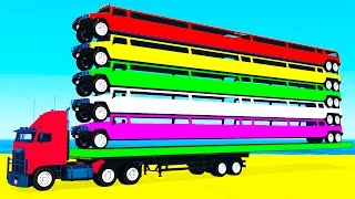 Learn colors with long carsMore cool videos:LEARN COLOR with HELICOPTERhttps://youtu.be/rgSvWcdMM-8COLOR TRACTORS on Truckhttps://youtu.be/KKeEiA8fhVoMotorbike and carshttps://youtu.be/ZesCBhGJC7oPolice cars transportationhttps://youtu.be/hrd9qWGHvrcMcQueen transportationhttps://youtu.be/FglROP3f8rEColor Long Carshttps://youtu.be/PlSyTbqZ1ms