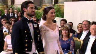 Video Prince Carl Philip of Sweden & Sofia (Wedding ceremony) (June 2015) MP3, 3GP, MP4, WEBM, AVI, FLV Februari 2019