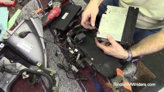 6. BMW K1200LT DIY Radio Replacement