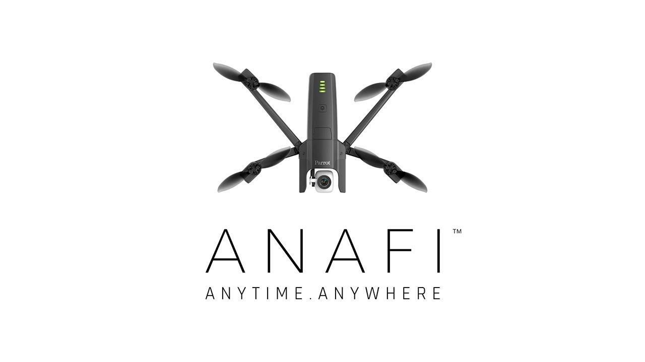 ANAFI - новый дрон от Parrot