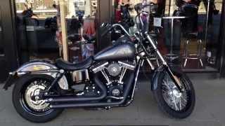 10. 2014 HARLEY-DAVIDSON DYNA STREET BOB FXDB CHARCOAL @ West Coast Harley-Davidson, Glasgow, Scotland