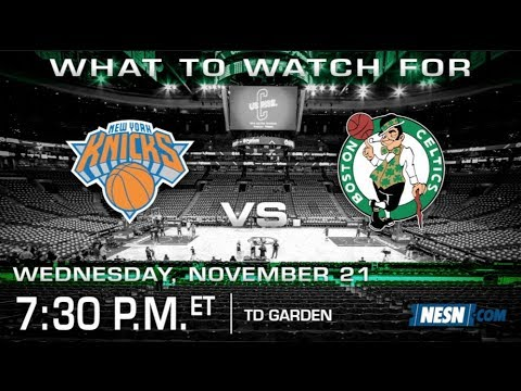 Video: The Celtics Look To Bounce Back Against Knicks