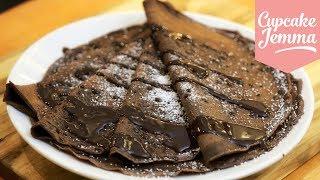 Perfect Chocolate Pancake Recipe | Cupcake Jemma