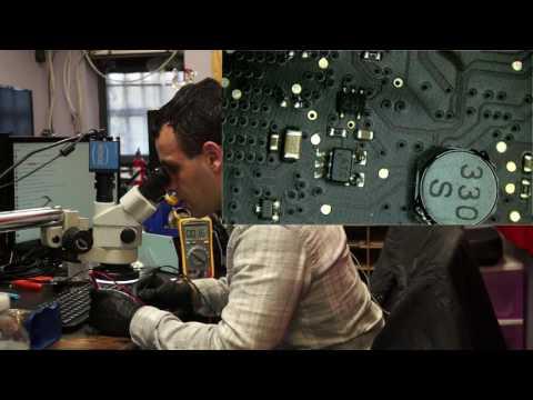 2017-01-26 Dead 820-2850 Macbook logic board repair