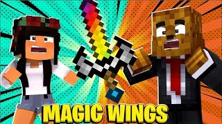 4 Player *Magic Wings Mod* Tumbleweeds - Minecraft Modded Minigame