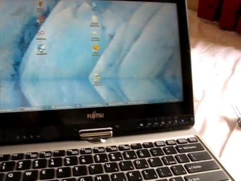 Fujitsu Lifebook T732 Convertible Tablet PC review part 1